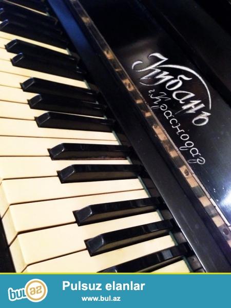 1970-ci ildə alınıb.Krasnodarın Kuban adlı pianinosıdır...