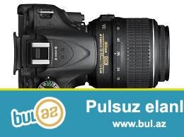 stehsalçı:Nikon (www.nikon.com)<br /> Vəziyyət:Təzə<br /> Kamera növü:Compact SLR<br /> Matris:CMOS (23...