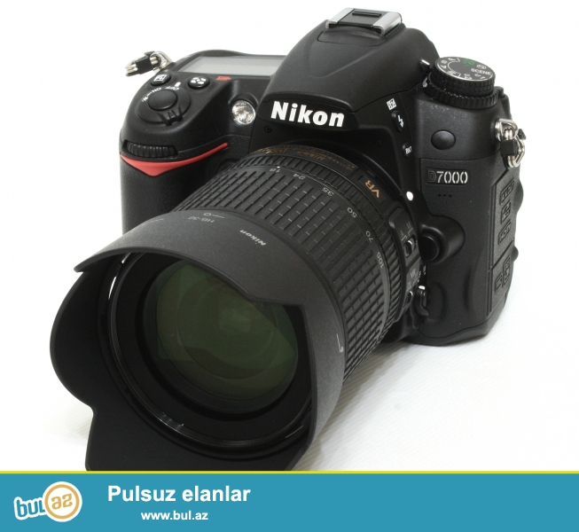 Nikon D90+ 18-105 obyektiv satiram <br /> moskvadan almiwam cemi 5-6 defe iwletmiwem tezedi her bir weyide var<br /> ustunde sumqa, 32gb kart, adapdir<br /> qiymeti razilawmaq yolu ile...