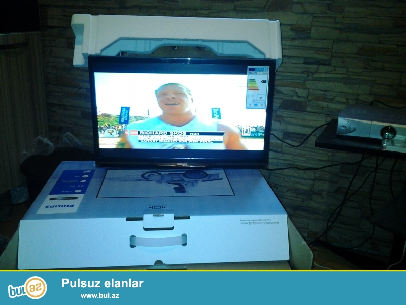 """Televizor  """"PHİLİPS""""(56sm) -3 ədəd, Holland/Polşa istehsalı..."""