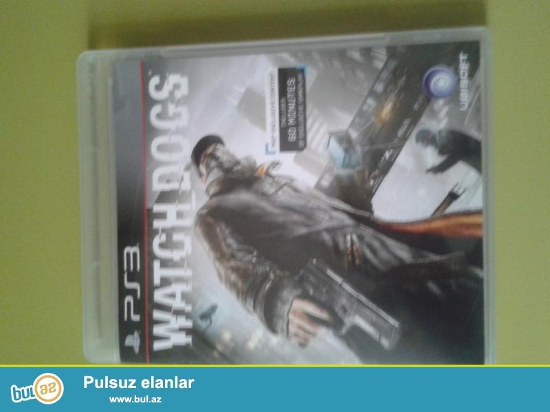 PS3 üçün WatchDogs diski satıram. tam orginal diskdir...