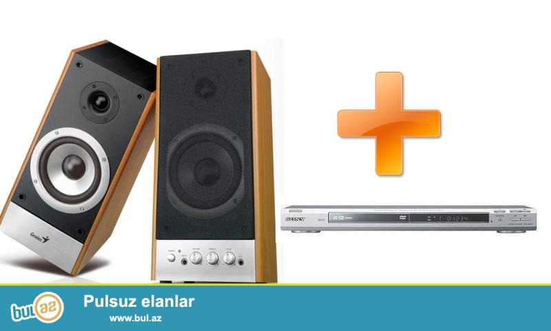Genius HF2000+DVD Sony satılır. Kalonka və DVD hər ikisi səliqəli istifadə olunub...