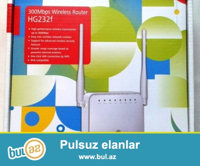 Modem satıram. Huawei HG232f 300Mbps Wireless WLAN...