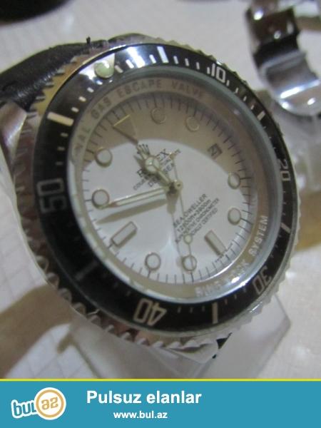 Rolex Deepsea:Paslanmayan polatdan korpus,korpusun...
