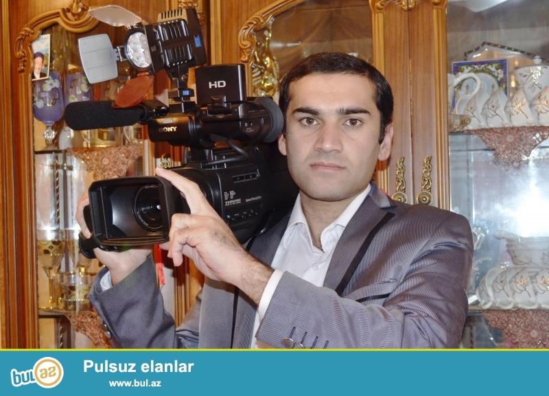 Toy Nişan Ad günü Xna yaxdı məclislərində <br /> Professional video çəkliş <br /> Videooperator Xəyyam 050 455 96 85