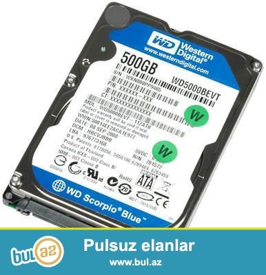 500GB hard disk notebook üçündür. <br /> 45 manat<br /> <br /> 051 5607319