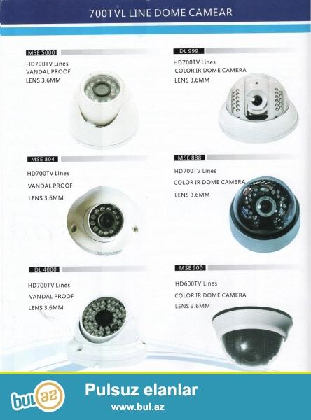 Tehlükesizlik kameralarının topdan ve perakende satışı,her növ kameralar,domofonlar ve playstation 2,3 ve 4 oyun ve coistikleri,xususi endirimli mallar ve keyfiyyetli iş,mallar dubay qiymetine ve zemanetli<br /> İp kameralar qurlaşdırılması ve servisi,zemanetli DVR yaddaş cihazına online telefon ve noutbukla nezaret ve yaddaşa baxma sistemi...