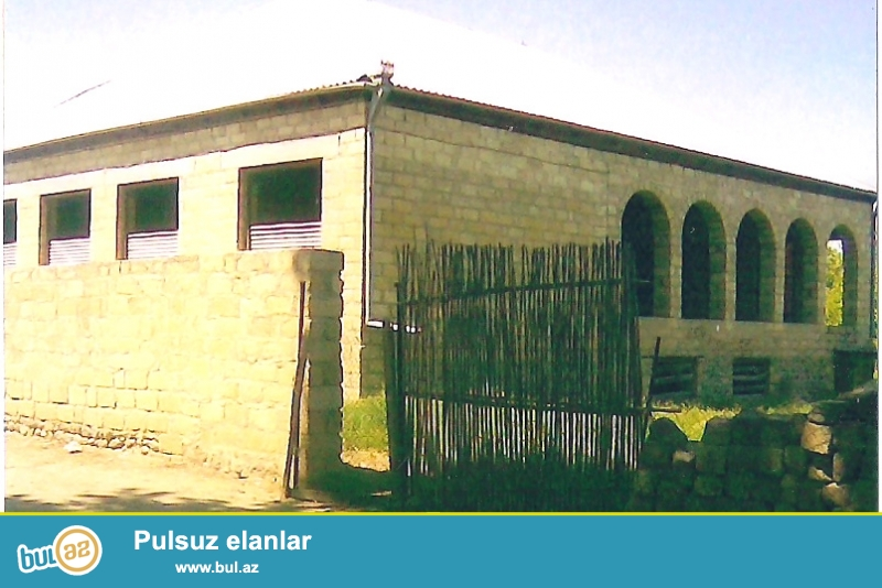 Goranboy rayonu, Nadirkənd kəndinin mərkəzində...