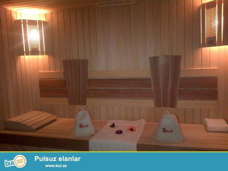 sauna tikintisi.\r\nRus hamamları və fin saunaları...