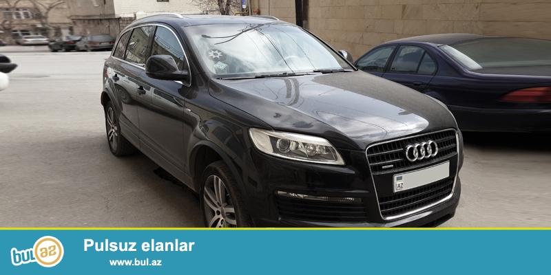 Audi Q7 S-Line (original)<br /> Full salon.<br /> Təcili satıram...