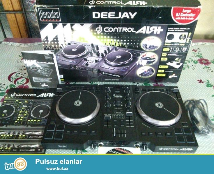 Yeni DJ controller (DJ mixer)<br /> model: Hercules AIR+<br /> elaqe nomresi: 055 567 65 77 whatsaplada elaqe saxlaya bilersiz<br />