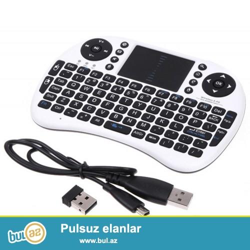 Mişkali Klaviatura Blutuzlu Anrtoid tv box uchun,smart tv üçün,komputer üçün və digər avadanlıqlar üçün