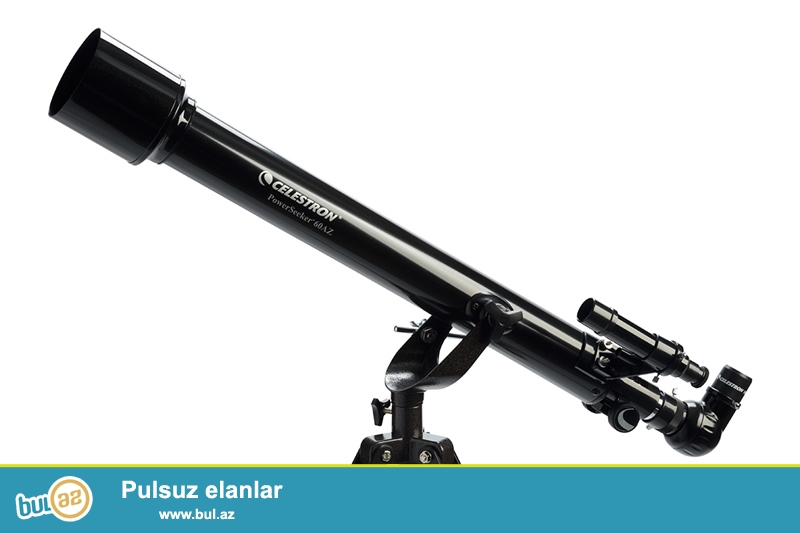 Купить Телескоп Celestron PowerSeeker 60 AZ в Баку в интернет магазине игрушек http://baku...