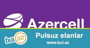 Yeni Azercell nomre hec vaxt ishlenmeyib 050-212-40-22