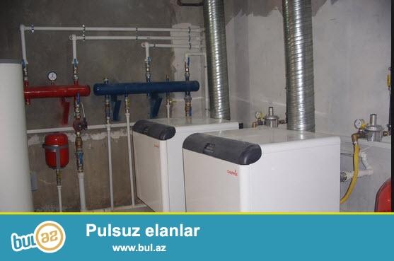 Istilik - qazanxana havalandırma ,işıglandırma -kanalizasiya  sistemlərinin quraşdırılması...