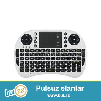 TELEFON PLANŞET KOMPUTER SMART TELEVİZOR VE TV BOX ÜÇÜN MİSKALİ KLAVİATURALİ PULT<br /> <br />     2...