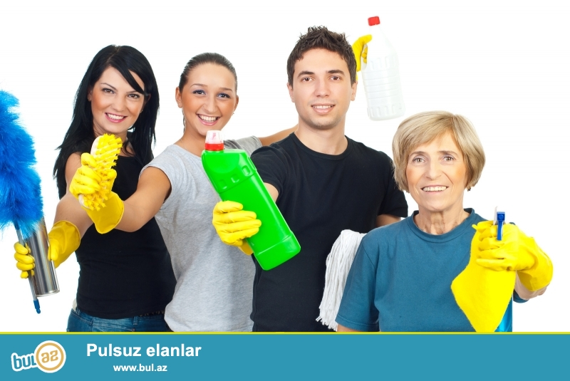, obyekt ve s. kimi erazilerin temizlenmesi ucun bizim sirketimiz oz xidmetlerini Size teklif edir...