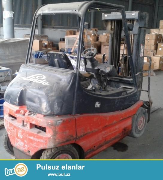 Elektrokar - Linde2000 Hollandiya istehsalı, ili -...