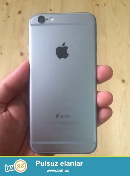 iphone 6 space gray 16GB tecili satiram her weyi vr wekildeki telefondur super isleyir ciddi isteyen elaqe saxlasin yadaki whatsappda yazsin