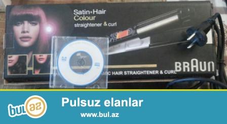 Saç ütüsü <br /> 0707828202 whatsapp  Bakı şəhəri daxilində çatdırılma Pulsuzdur.