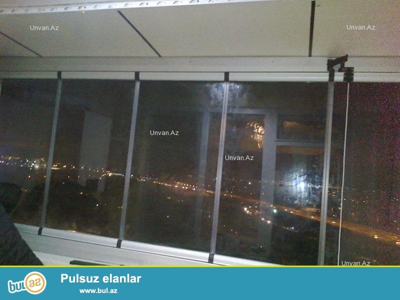 Cam balkon sifarişi 1 kv.m-120man.ALTİM türk profili...