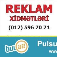 Reklam Xidmətləri<br /> Baner və Vinil capi.<br /> İşigli reklam və Metal konstruksiyalar...