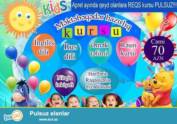 Kids Inkishaf Mektebeqeder Kurs-da KAMPANIYA<br /> Yeni...