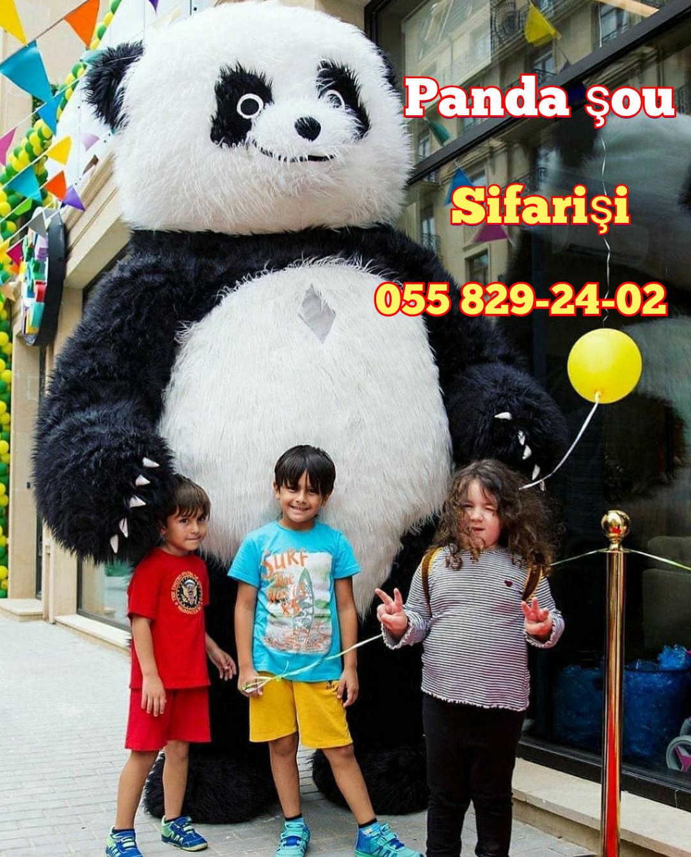 Hər növ nağıl və cizgi filmi qəhrəmanlarının sifarişi Panda