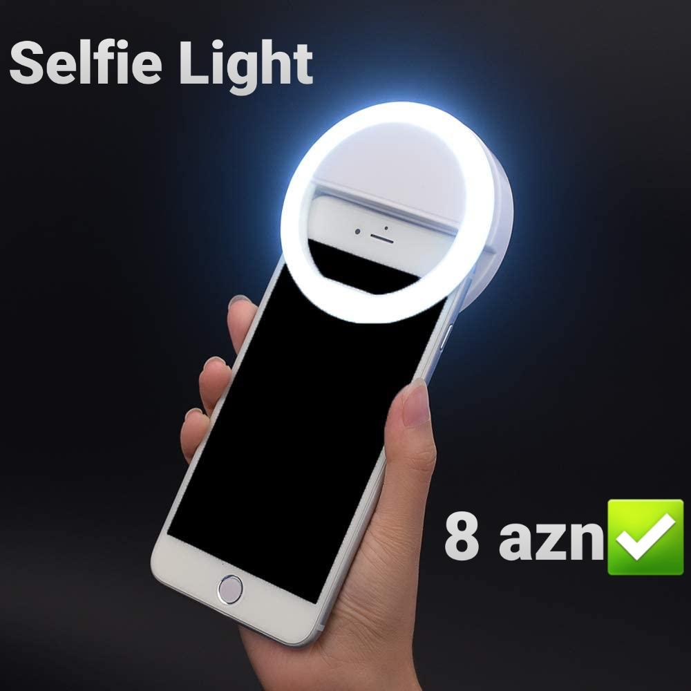 Selfie light satılır. Qiymət 18 AZN. Ən ucuz və keyfiyyətli