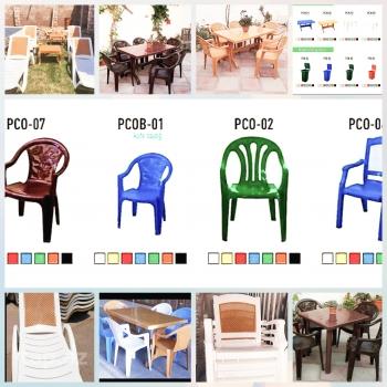 SATILIR!!! Ev və ya bağ üçün şezlonq və masası,stol,stullar