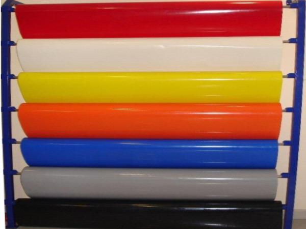 PVC örtülü polyester kətan (Membran) çadır strukturlarda
