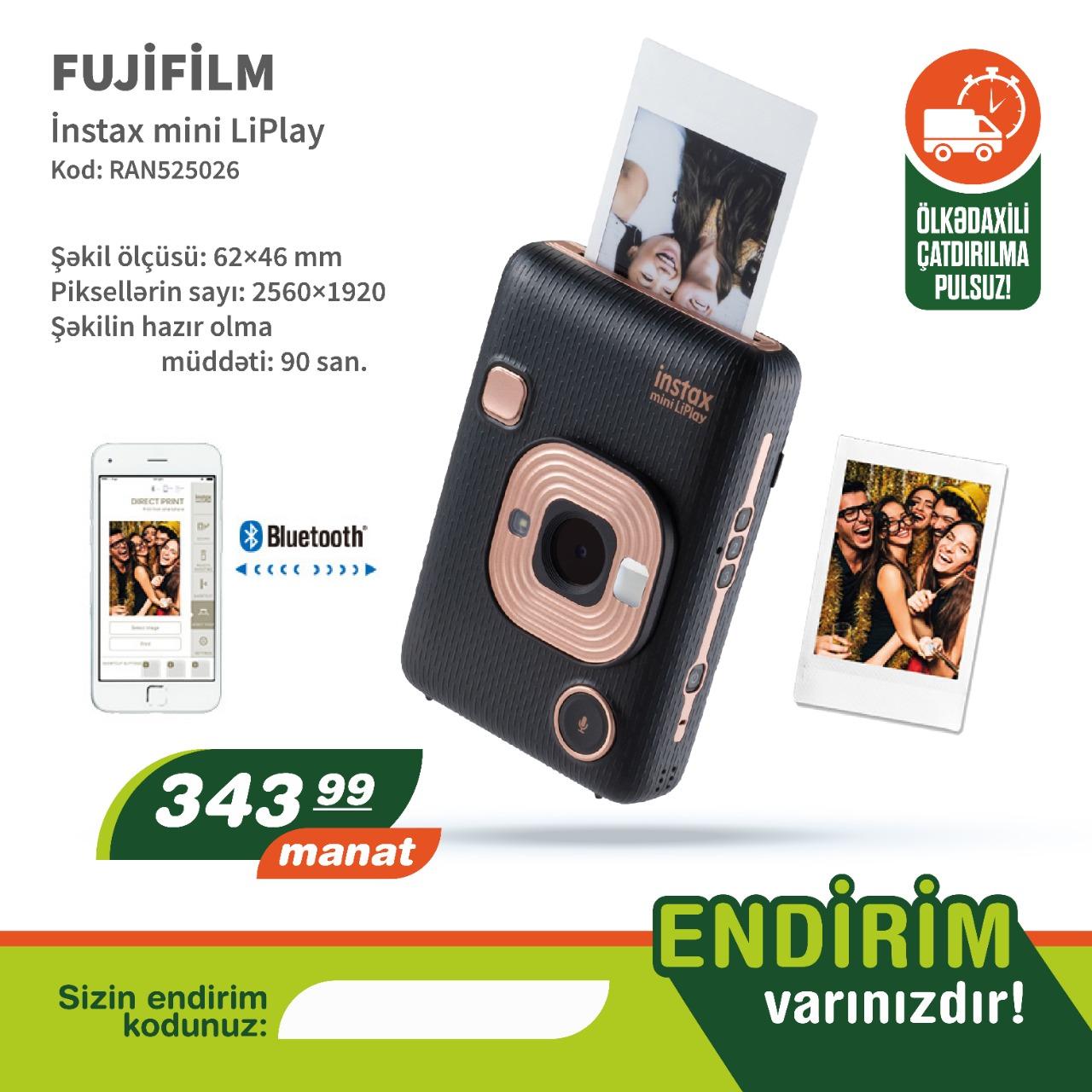 Mini Fotoaparat Şəkilin hazır olma müddəti: 90 san Şəkil