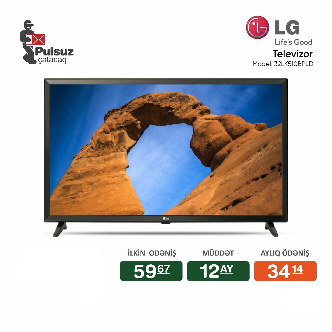 Televizor LG (81 sm) Smart: Yoxdur Tip: LED Nağd alışda