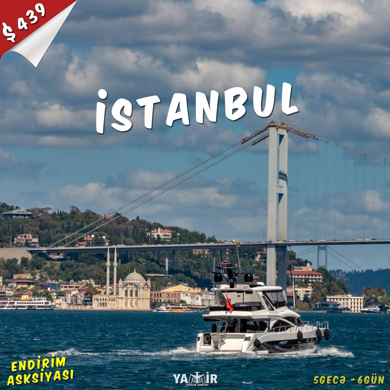 İstanbul'a endirimli qiymətlərlə səyahət etmək