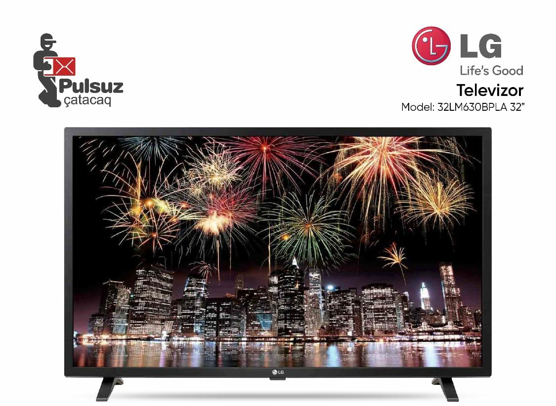 Televizor LG (81 sm) İlkin Ödəniş 50 AZN 12 Aya 44.95 AZN