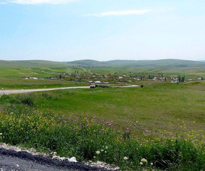 Şəmkir rayon Dəllər-Daşbulaq kəndində kənd təsərrüfatı