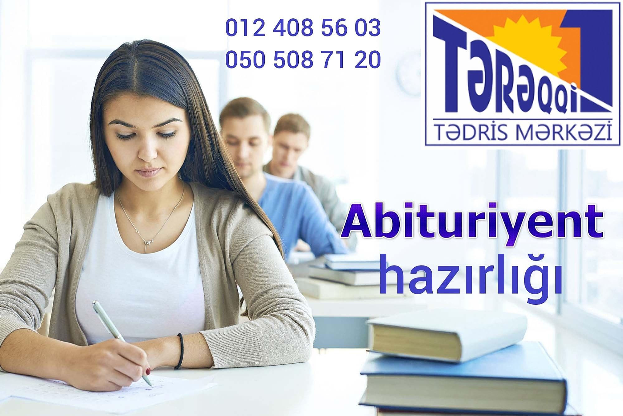 Abituriyent hazırlığı Azərbaycan və rus bölmələr Fərdi və