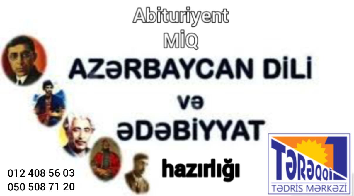 Azərbaycan dili və ədəbiyyatdan online və kursda hazırlıq