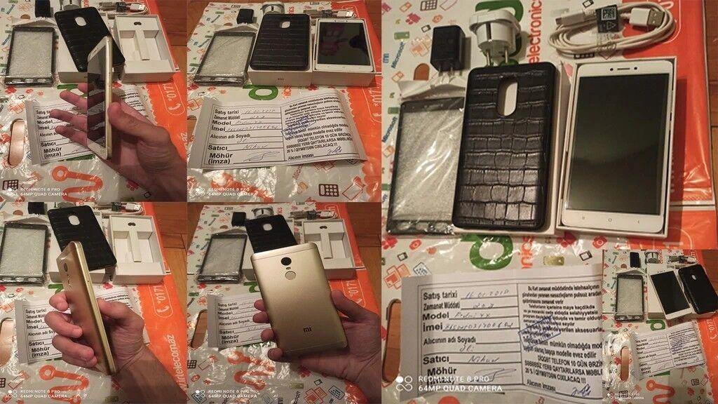 Xiaomi Redmi Note 4 32 GB Əla vəziyyətdə super problemsiz