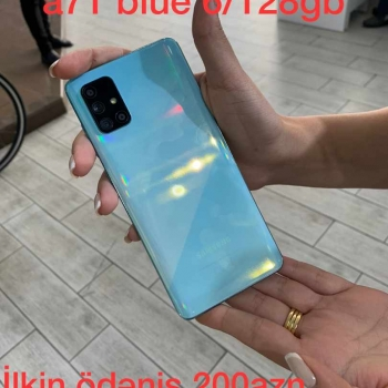 Samsung Galaxy A71 Blue (6/128 GB) İlkin Ödəniş 200 AZN 12