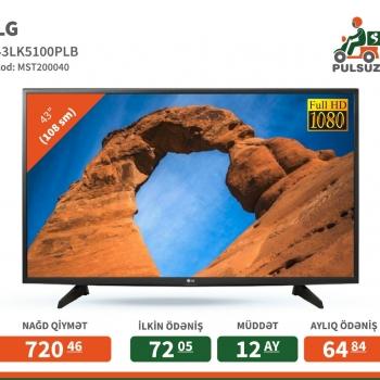 Televizor LG ( 108 sm) Televizor növü - LCD SMART TV - var