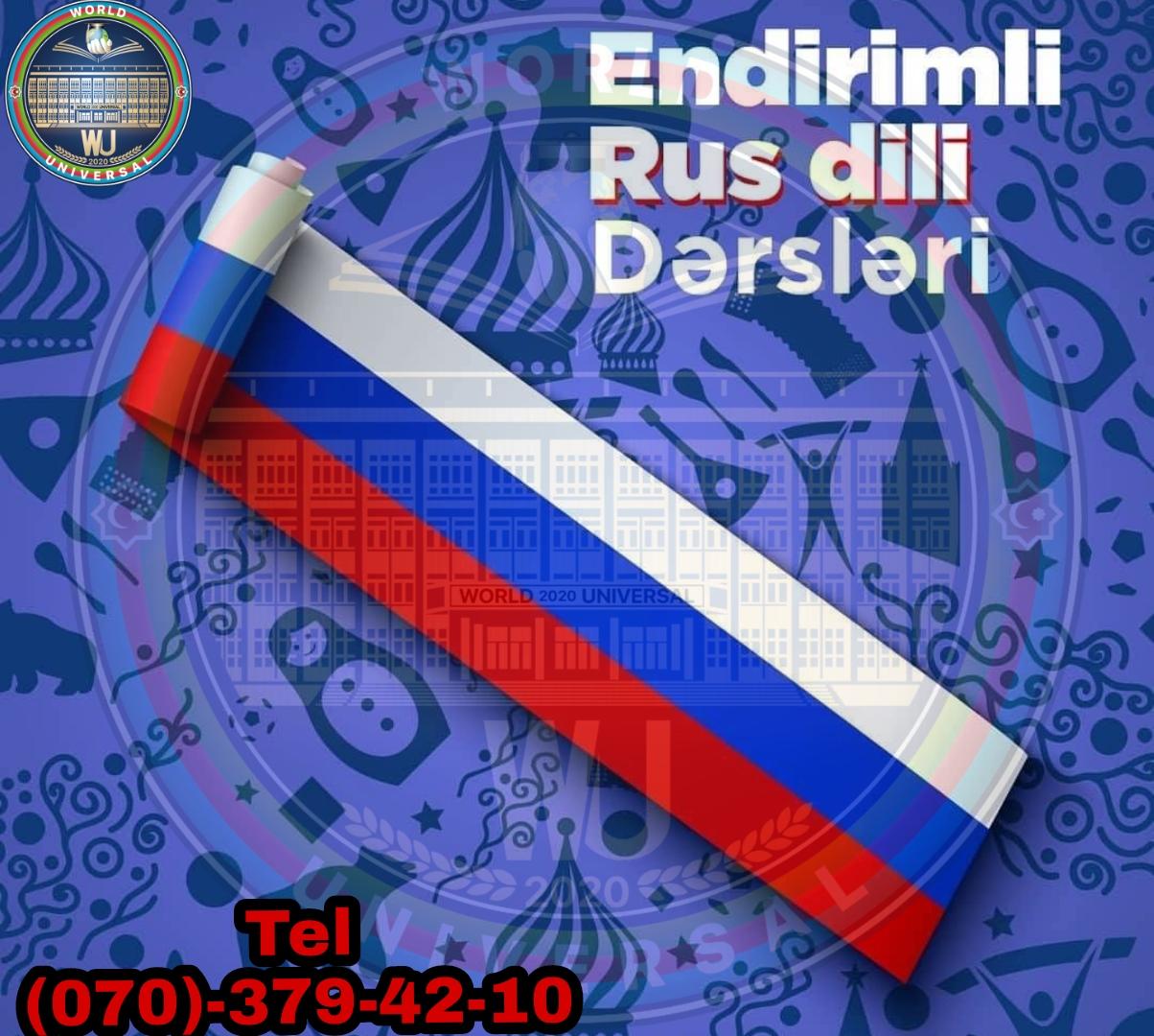World Universal Consulting Group Rus dili kursu Əziz və