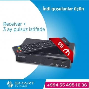 Smart Tv Plusdan ENDİRİM kampaniyası başladı. Sadəcə 59 azn