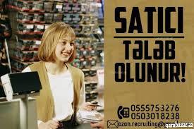 Oyuncaq mağazasına satıcı xanım tələb olunur,maas 300 azn