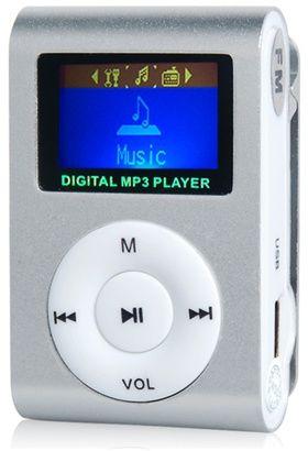 """Yeni.Çatdırılma var Material: Plastik, Metal Ölçü: 4.8cm x 3cm x 1.5cm - 1.87"""" x 1.17"""" x 0.59"""" Ekran: Mini LCD rəngli ekran Qulaqlıq Jakı: 3,5 mm stereo jak Musiqi Ekvalayzer: Təbii, Pop, Qaya, Klassik, Caz, Yumşaq, DBB Dəstək dili: İngilis 2/4/8 / 16GB / 32GB Micro SD / TF Yaddaş kartı dəstəkləyir (paketə daxil deyil) Mp3 musiqi oxuda bilərsiniz. Fm radioya qulaq asa bilərsiniz.MP3 fayllarını birbaşa kompüterdən mp3 playerə ata bilərsiniz. USB 2.0 / 1.1 dəstəkləyir Quraşdırılmış Li-ion şarj edilə bilən batareya.Adaptor və kompüterdən doldura biləsiniz. Klipsli kompakt halda hamar şık dizayn Mikro SD / Yaddaş kartı oxuyucusu kimi də istifadə edilə bilər (flyaşkart kimi istifadə edə bilərsiniz). Paketə daxildir: 1x MP3 player 1x Qulaqlıq 1x USB Kabel 1x Hədiyyə qutusu"""