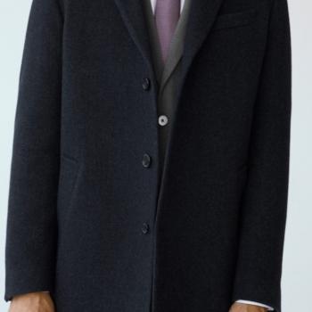 Kalıplı yün Tailored palto. Yeni! Tailored ürün