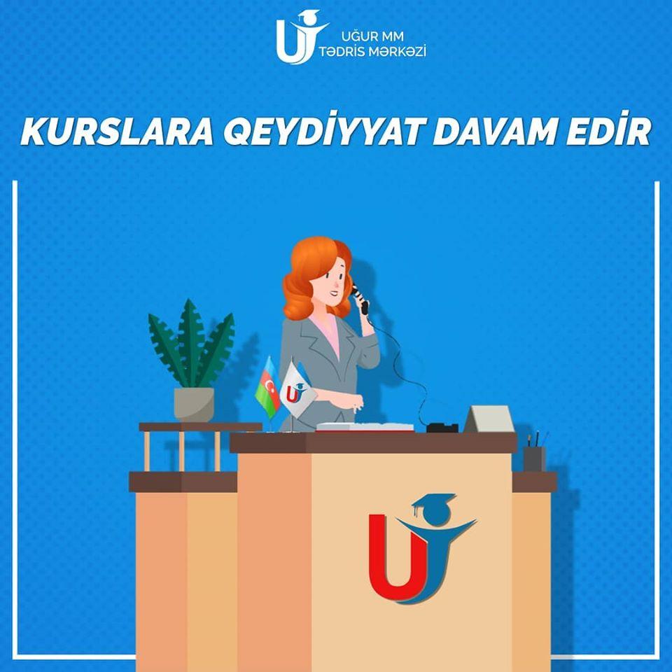 """""""UĞUR MM"""" Tədris Mərkəzi sizi mükəmməl səviyyədə təşkil"""