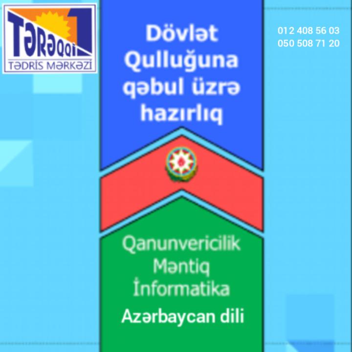 Dövlət qulluğuna kursda və online hazırlıq Dövlət qulluğuna