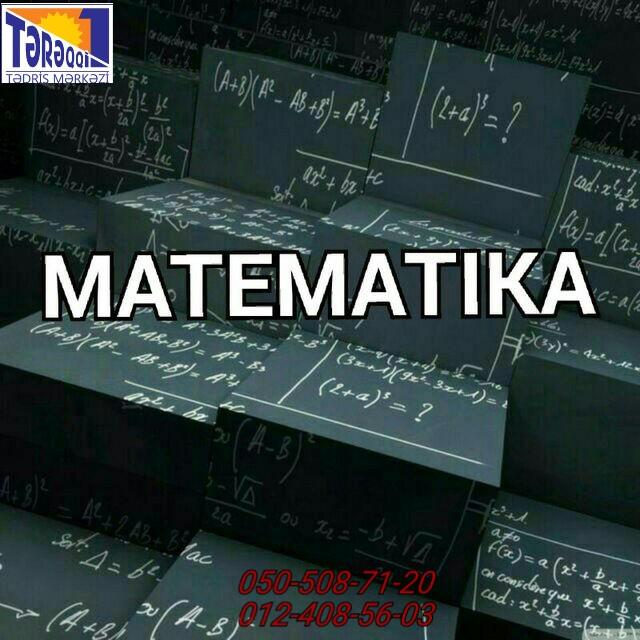 Matematika dərslərimiz təcrübəli,peşəkar müəllimlərimiz