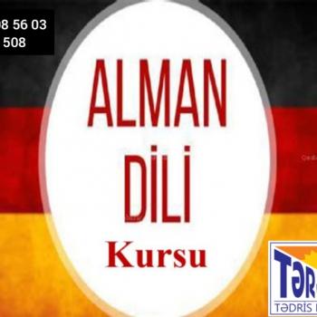 Alman dili kursu Siz də ALMAN DİLİNİ mükəmməl səviyyədə